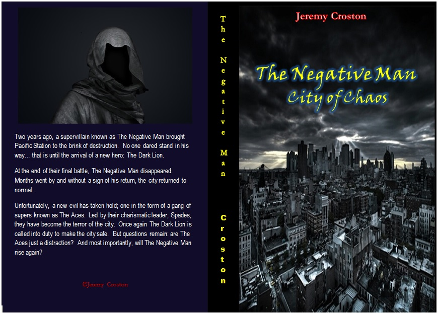 The Negative Man Cover